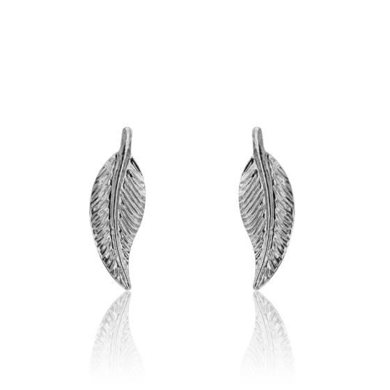 boucles d'oreilles plum