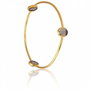 Bracelet Jonc Gris Foncé Collection Artemis
