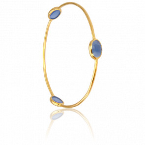 Bracelet Jonc Bleu Foncé Collection Artemis