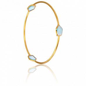 Bracelet Bleu Clair Collection Vesta