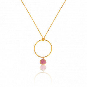 Collier Tourmaline Rose Collection Rhea