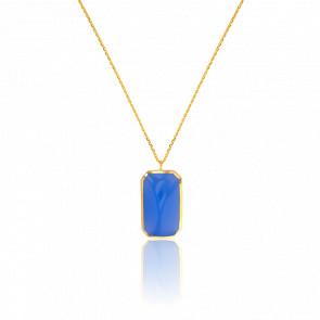 Collier Bleu Ciel Collection Vesta