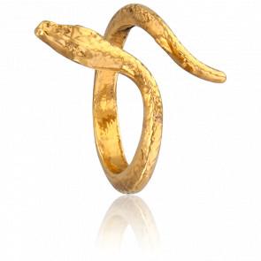 Bague Snake Dorée