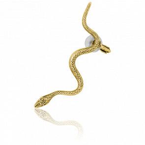 Ear Cuffs Snake Doré