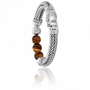 Bracelet Ellen Beads Tiger Eye - Buddha to Buddha