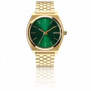The Time Teller Gold / Green Sunray - A045 1919
