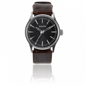 The Sentry 38 Leather Brown Gator - A377 1887