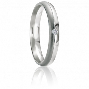 Alliance Leucade Diamant & Or Blanc 18K