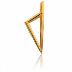 Pendentif Corse Triangulaire 11x32 mm en Or Jaune 18K