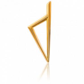 Pendentif Corse Triangulaire Or Jaune
