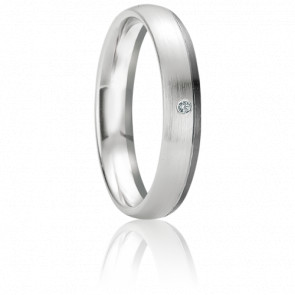 Alliance Paxi Diamant & Or Blanc 18K