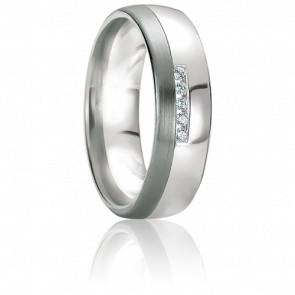 Alliance Evia Diamant & Or Blanc 18K