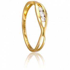 Bague Anasuya Or Jaune 18K et Diamants