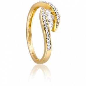 Bague Sejal Or Jaune 18K et Diamants
