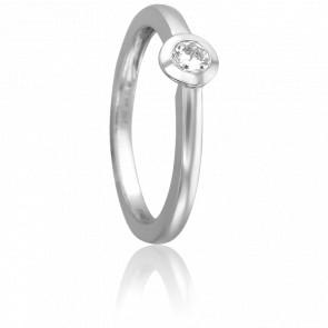 Bague Asgari Or Blanc 18K et Diamant