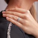 Bague Aloki Or Blanc 18K et Diamants