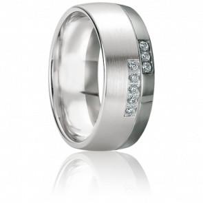 Alliance Tinos Diamants & Or blanc 18K