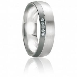 Alliance Leros Diamants & Or blanc 18K