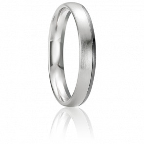 Alliance Paxi 4 mm Or blanc 18K