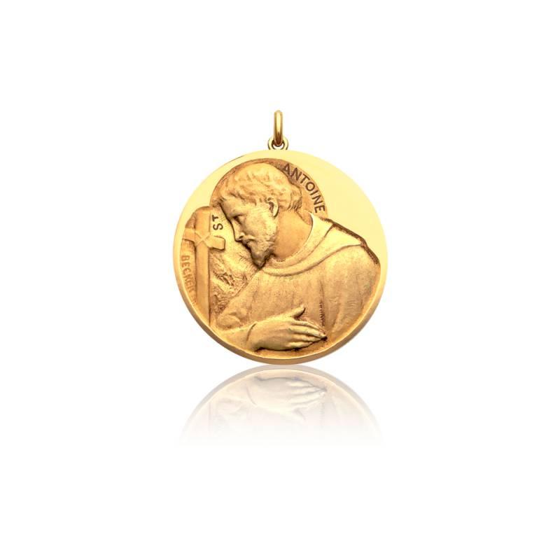 Médaille Saint Antoine Or Jaune 18K