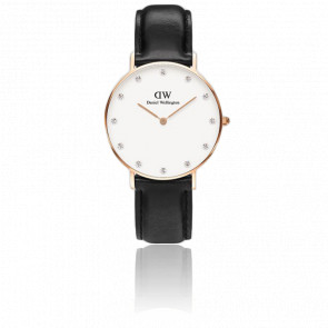 Classy Sheffield Lady Rose Gold 34 mm - Daniel Wellington