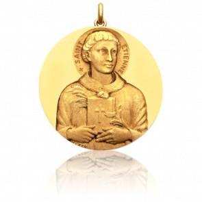 Médaille Saint Etienne Or Jaune 18K