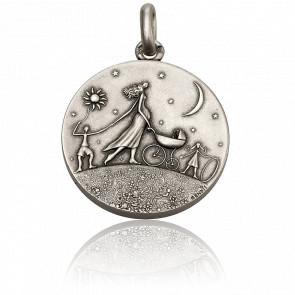 Médaille Ronde de la Vie Argent