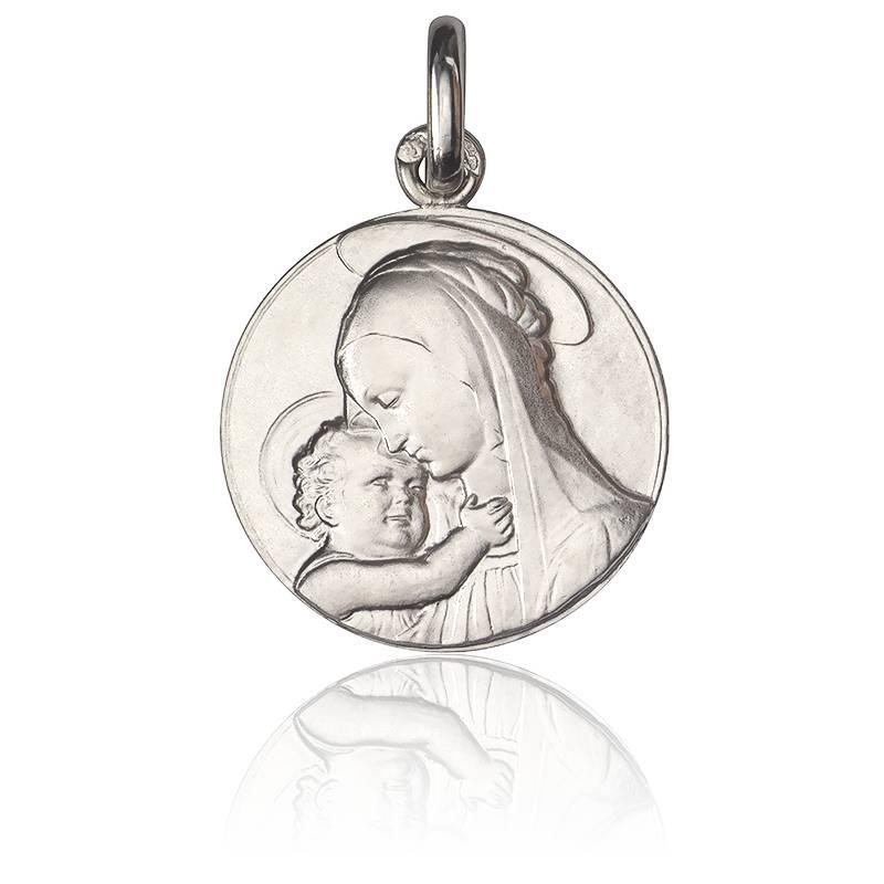 Médaille Vierge de Botticelli Argent
