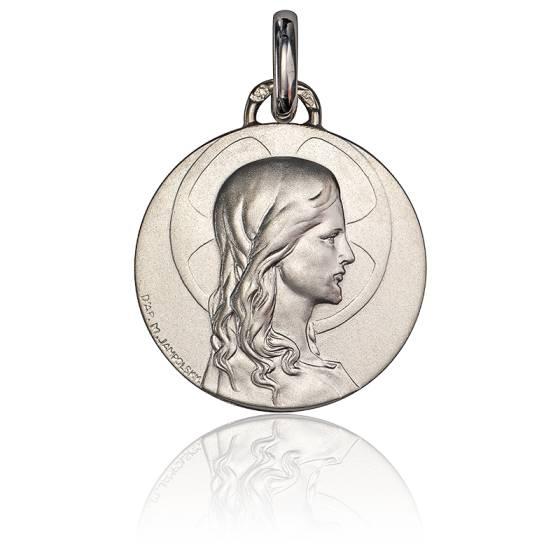 Médaille Christ Adolescent Argent