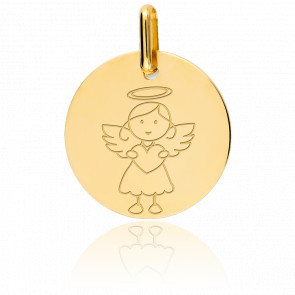 Médaille My Angel Fille Or Jaune 9K