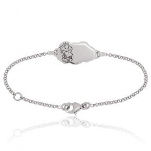 Bracelet Nuage Rêveur Or Blanc 18K