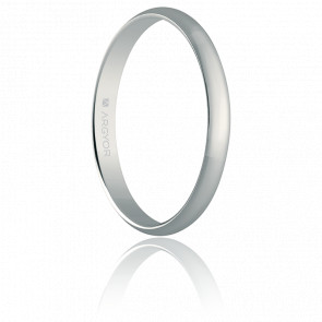Alliance Madrid 3 mm Or Blanc 18K