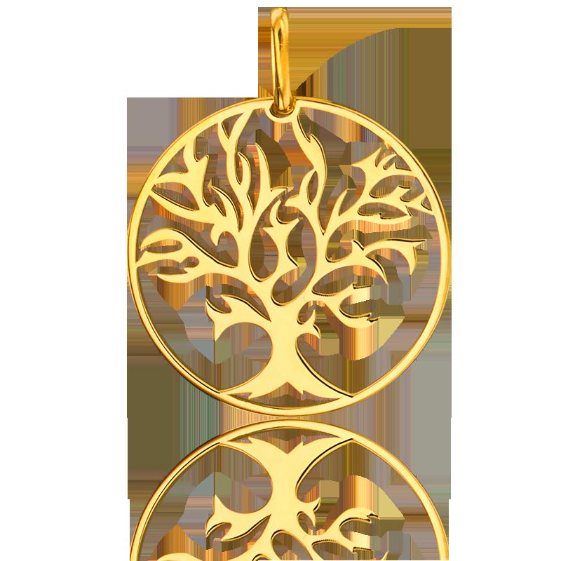 Populaire Médaille Arbre de Vie en Or jaune ou en Or blanc - Ocarat ND51