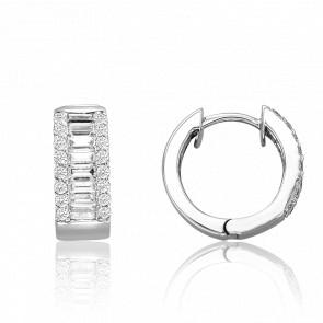Boucles d'Oreilles Multi Diamants 1,10 ct