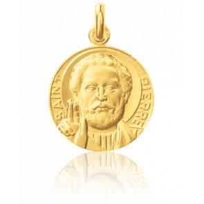 Médaille Saint Pierre Or Jaune 18K - Monnaie de Paris