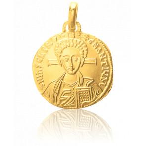 Médaille Christ Byzantin Or Jaune 18K - Monnaie de Paris