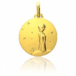 Médaille Petit Prince Sur Sa Planète Or Jaune 18K - Monnaie de Paris