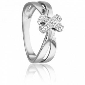 Bague Nélée Or Blanc 18K & Diamants