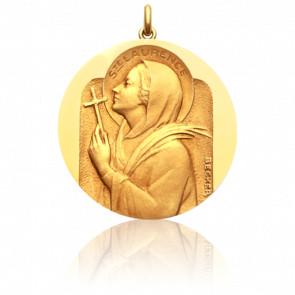 Médaille Sainte Laurence Or Jaune 18K