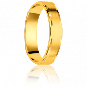 Alliance Arequipa 4,5 mm Or Jaune 18K