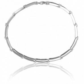 Bracelet Romy Or Blanc & Diamants - Ancelys