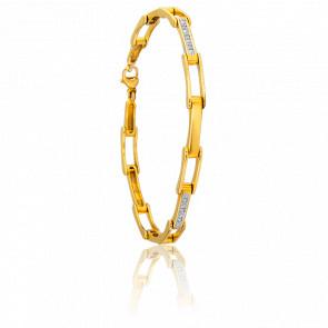 Bracelet Laly Or Jaune 18K & Diamants - Ancelys