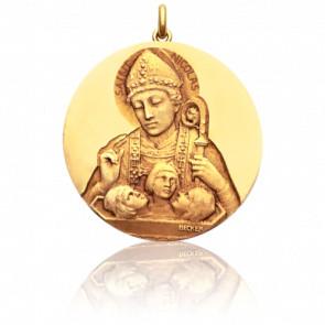 Médaille Saint Nicolas Or Jaune18K