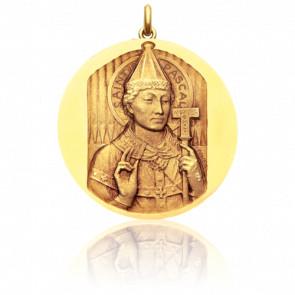 Médaille Saint Pascal Or Jaune 18K