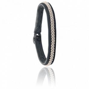 Bracelet Mossa One Gris Anthracite