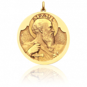 Médaille Saint Paul Or Jaune 18K