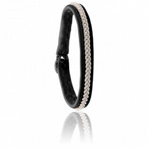 Bracelet Mossa One Noir