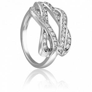 Bague Emmy Or Blanc & Diamants