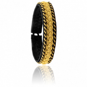 Bracelet Rollin Gold Noir