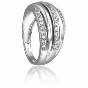 Bague Amarillys Or Blanc & Diamants